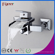 Fyeer Single Handle - Grifo para bañera, cascada, baño, montado en la pared, baño