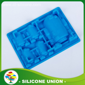 Promotion Multicolor Different Shape Blue Silicone Mold