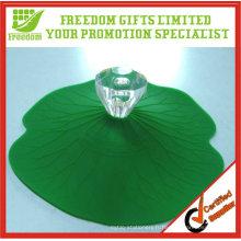 Cadeaux de promotion en forme de couvercle de tasse de café en forme de silicone mignon