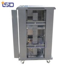 Rack de servidor de aluminio para exteriores recubierto de polvo de 1,0 mm de espesor Rack de servidor de aluminio para exteriores recubierto de polvo de espesor de 1,0 mm