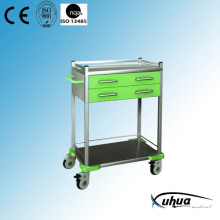 Mobile Hosptial Medical Treatment Medicine Trolley (N-19)