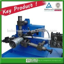 Maquinaria de fabricación de tubos corrugados galvanizados
