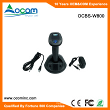 OCBS-W800 RF433MHz Wireless Laser Barcode Scanner With Cradle