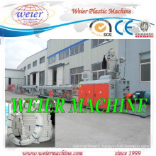 Hige Speed PE HDPE PPR Pipe Extrusion Production Line From 15years Factory
