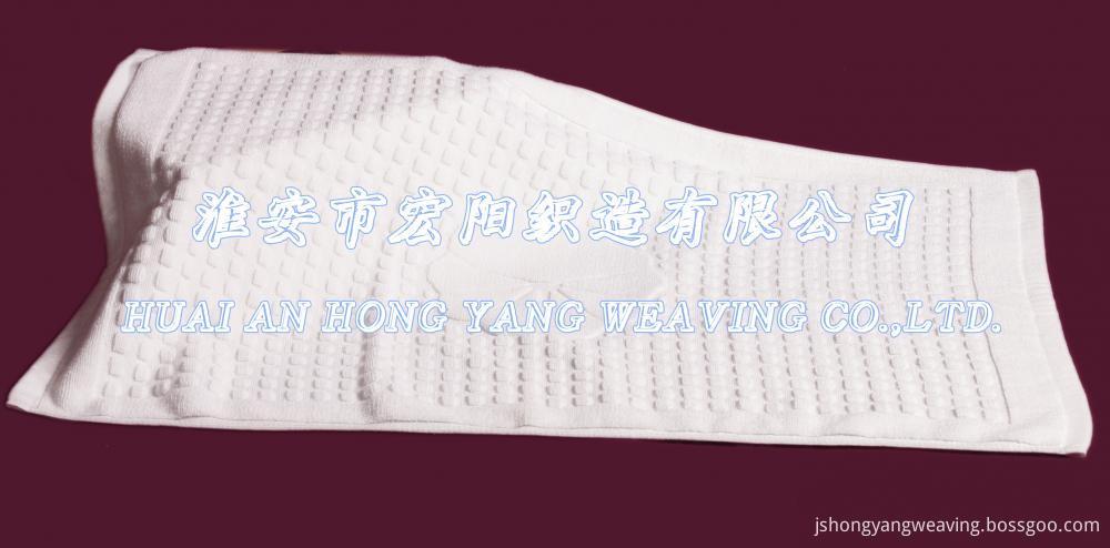 100%Cotton White Bath Mat