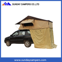 New products aluminium canopy cotton fabric camping roof top tent                                                                         Quality Assured