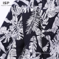 Fashion style plain  poplin flower printed fabric