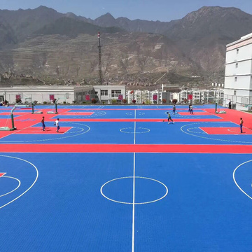 Enlio Professioneller Outdoor-Basketballplatz