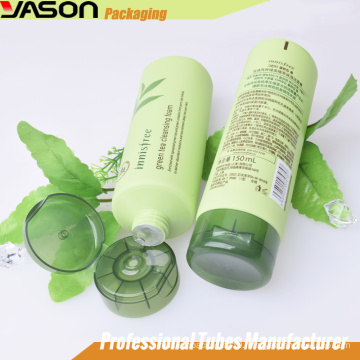 customized squeeze pe cosmetics packaging