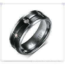 Accesorios de moda Anillo de titanio de joyería de moda (TR102)