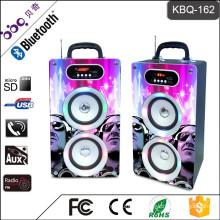 BBQ KBQ-162 20W 2000mAh Mini Built-in Microphone to Hand Free Call DJ Speaker