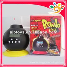 Neue Originalität Spielzeug Bombe Wecker mit Münze Bank