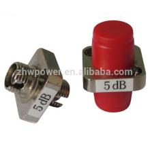 0dB 1dB 3dB 5dB 6dB 7dB 10dB 15dB 20dB fc atténuateur d'adaptateur de type de fixation, atténuateur d'adaptateur de type fixe fc