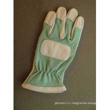 Pig Grain Leather Palm Mechanic Garden Work Glove
