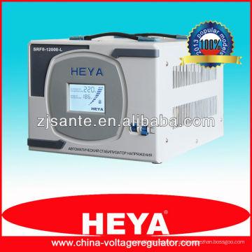 SRFII-12000-L Estabilizador de tensão do controle do relé do display LCD