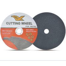 "7 ""disco de corte fino super de 180 * 1.7 * 22.2mm para o metal"