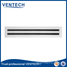 HVAC Systems Aluminum Air Grille Removable Core Linear Grille