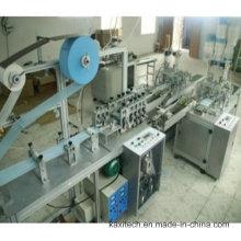Máscara automática de la venda del lazo que hace la máquina