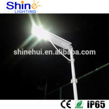 High Power Integrated 60W LED Solar power Street Light with Lithium Battery Sunpower Solar Panel