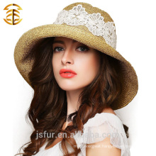 Wholesale Fashion Casual Summer Sunscreen Women Straw Hat
