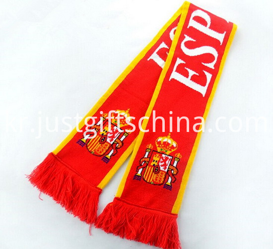 Promotional Latest Design Knitted Scarf1