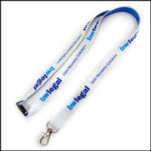3D Thick Woven/Jacquard/Embroidered Logo Custom Lanyard for Conference