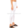 Weiß mit Mesh-Stil Yoga Hosen Kompression Frauen Fitness Yoga Legging