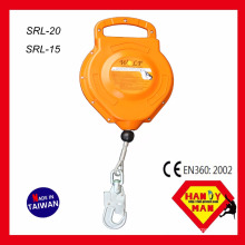 SRL-15 15m 12 kN Certified with SGS certification Cable Self Retracting Lifeline