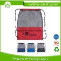 High Quality Advertising Mesh Drawstring Bags