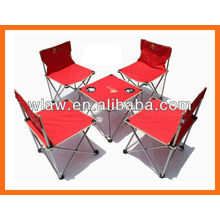 folding chair and table ,For camping