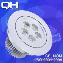 White/ Warm White 5W LED Lighting Fixture For Housing Long Lifespan