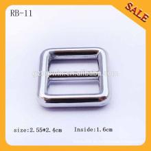 La fábrica de RB11China hace la hebilla del deslizador del metal del bolso, hebilla deslizante ajustable, hebilla lateral del lanzamiento