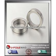 N38 Ring Radial magnetized magnet