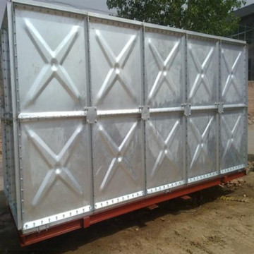 Galvanized Bolted Steel Panel Water Storage Tanks