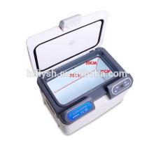HF-15L (109) DC 12 V / AC 220 V mini portable maison et voiture double usage voiture réfrigérateur voiture refroidisseur (certificat CE)