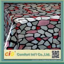 Лазерной печати таблицы ПВХ ткани для одежды