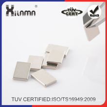 Strong Small Neodymium Flat Square Shaped Magnet