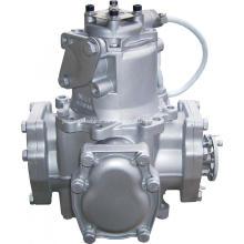 dispensador de combustible diesel flujómetro