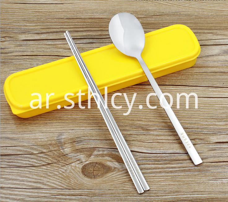 Stainless Steel Portable Tableware2