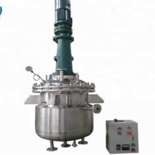 Tanque de reator químico aquecido térmico com caixa de engrenagens