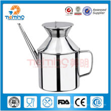 food grade kitchen stainless steel oil bottle,oil dispenser
