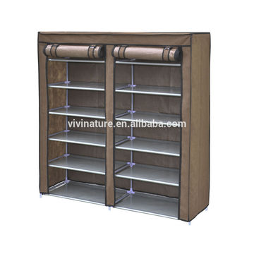 non woven faric coat rack and shoes storage