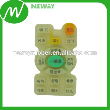 Custom Printing Compression Molding Silicone Rubber Keypad