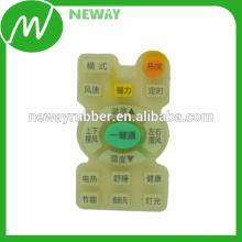 Impressões personalizadas Moldagem por compressão Teclado de borracha de silicone