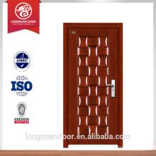 Porte chinoise de porte de salle de bains arrière porte d'entrée porte en acier à vendre