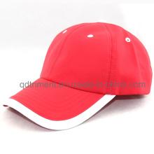 100% полиэстер Mircrofiber ткани Бейсбол Гольф Спортивные шапки (TMR4517)