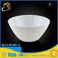 high quality hotel dinnerware melamine whitesalad bowl
