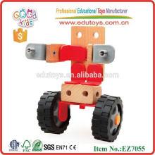Большой рождественский подарок Деревянная деформация Сборка детских игрушек для автомобилей