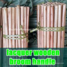 Лакированные деревянные ручки для метлы, дешевые лаки деревянные ручки для метлы, лаки для деревянных ручек оптом