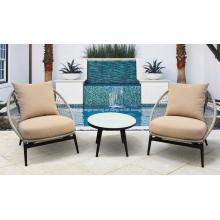 3 Stück neues Design Seil runden Stuhl
